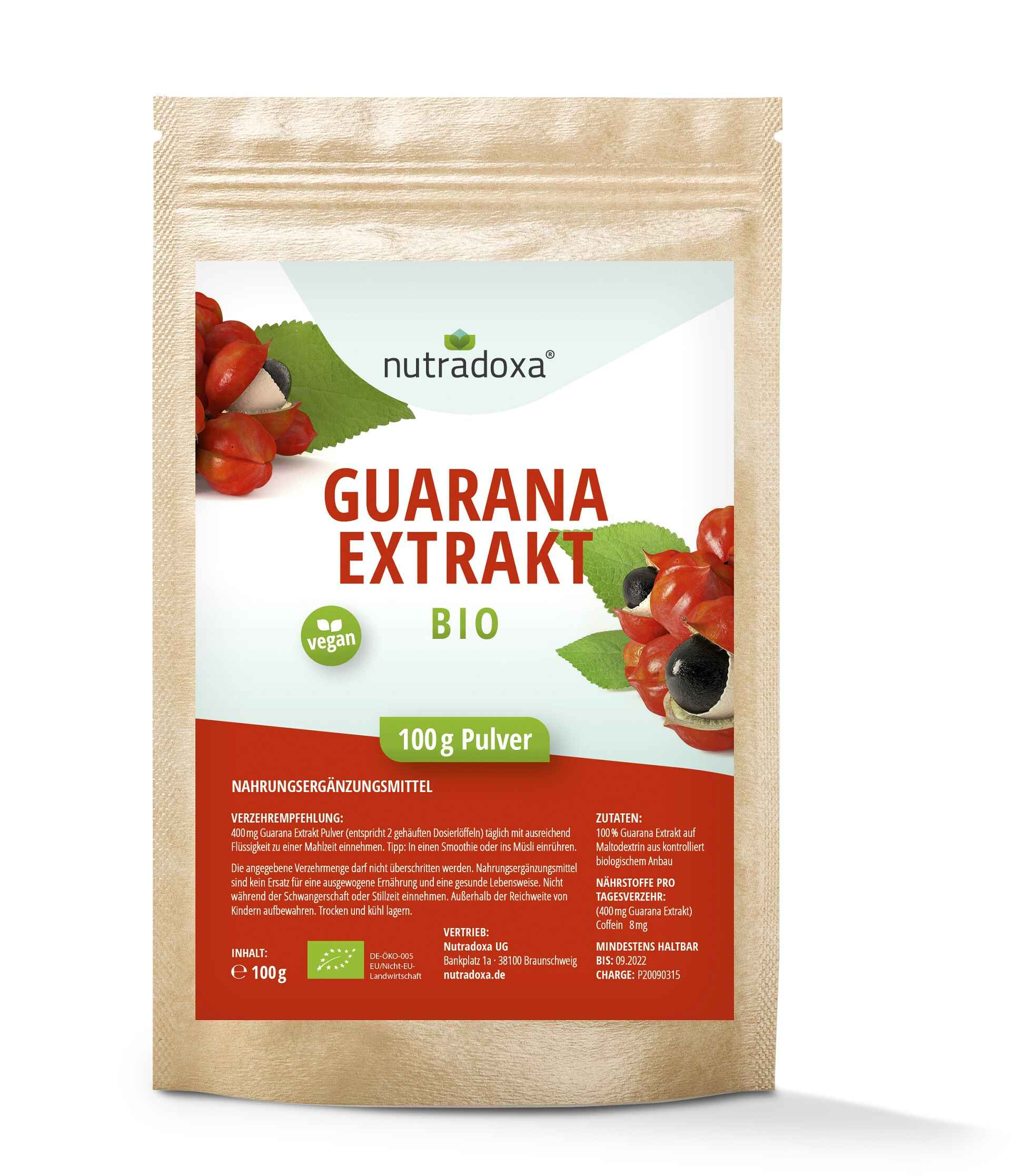 Bio Guarana Extrakt