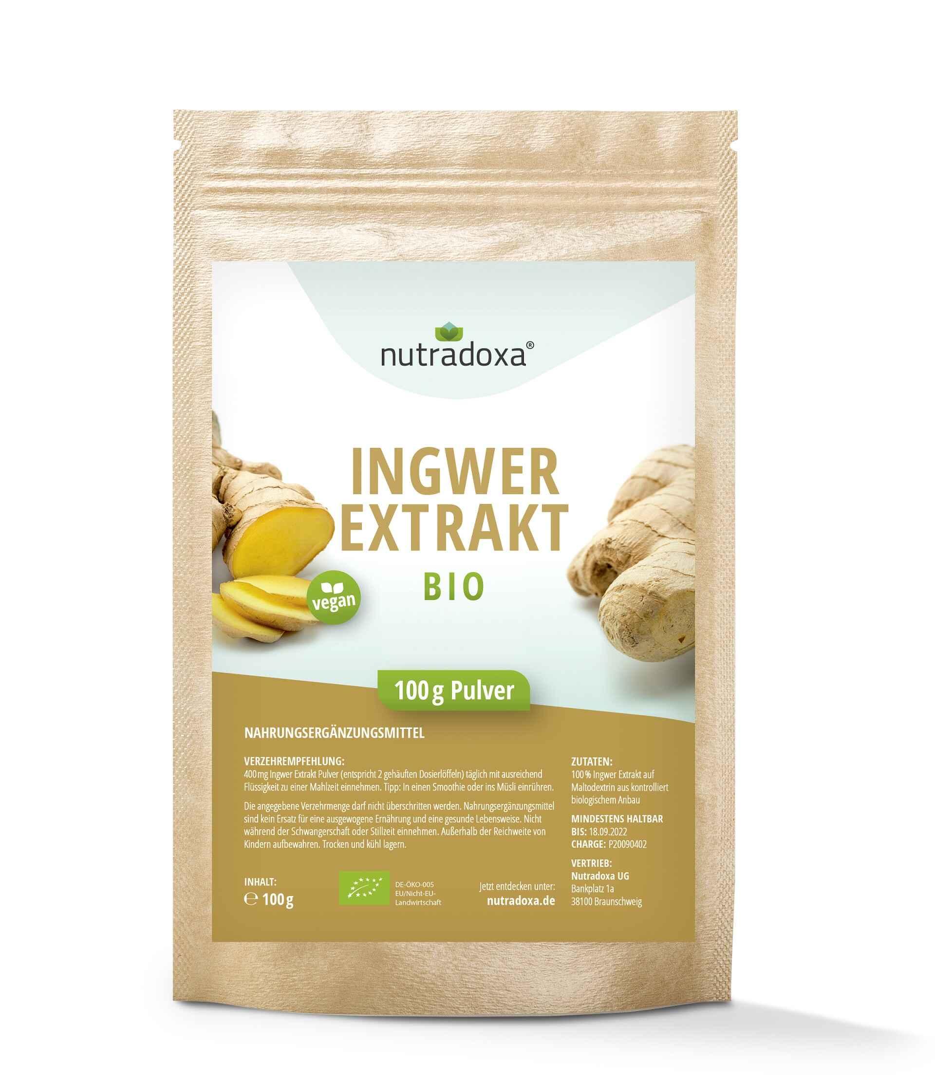 Bio Ingwer Extrakt