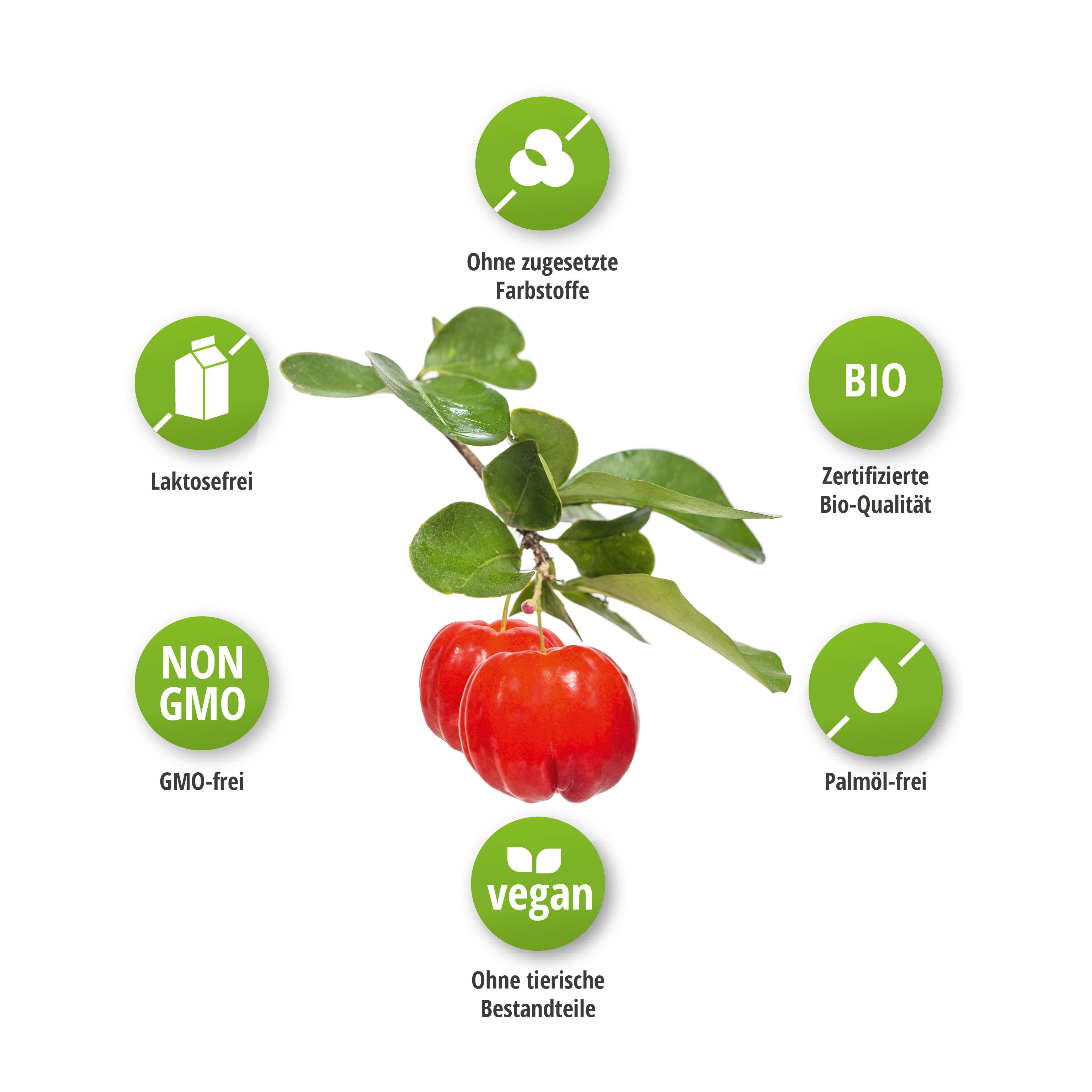 Bio Acerola Extrakt